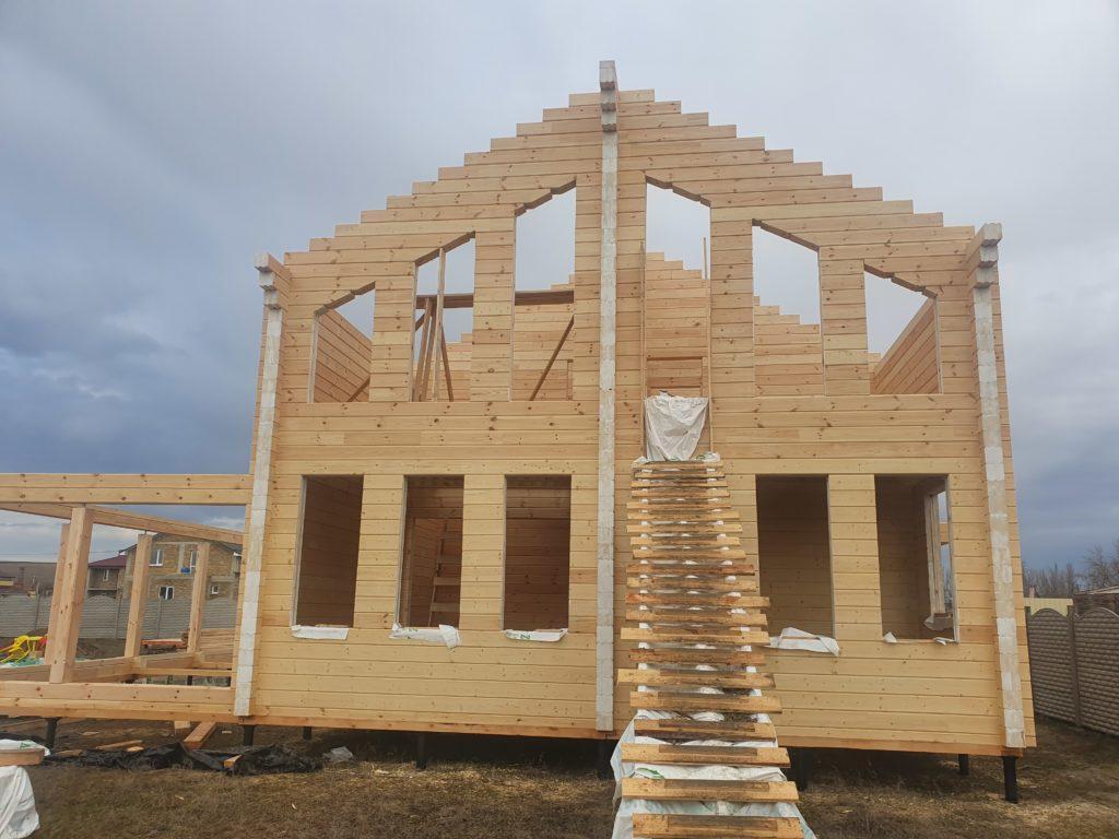 Работа сборка деревянных домов 1
